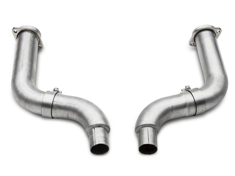 BBK 3in Long Tube Header to Mid Pipe Adapter- Off Road (2015-2017 GT)