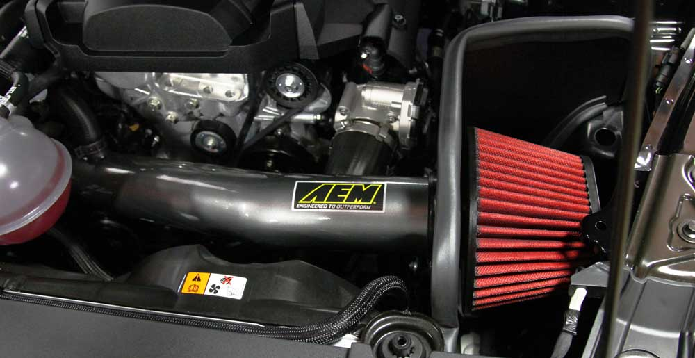 AEM 2015-2018 Ford Mustang EcoBoost Air Intake System - Lebanon Ford Performance Parts