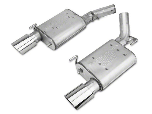 BBK VariTune Axle Back Exhaust-Aluminized Steel (2005-2010 GT)