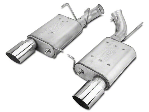 BBK VariTune Axle Back Exhaust-Aluminized Steel (2011-2014 GT)