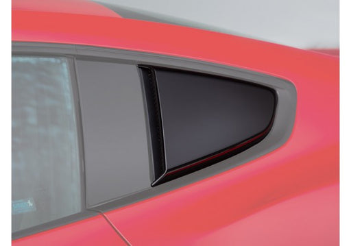 ROUSH Quarter Window Scoops (Painted Black) - Lebanon Ford Performance Parts