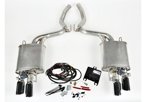 ROUSH GT Quad Tip ACTIVE Exhaust Kit (REQUIRES ROUSH REAR VALANCE) - Lebanon Ford Performance Parts