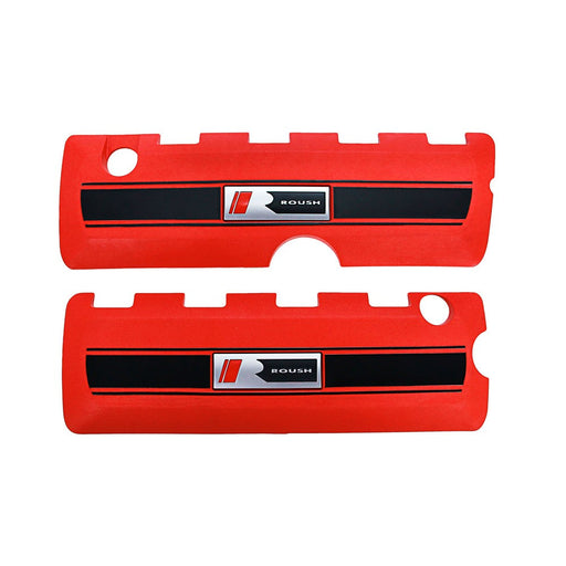 Roush V8 Coil Covers in Red - Lebanon Ford Performance Parts