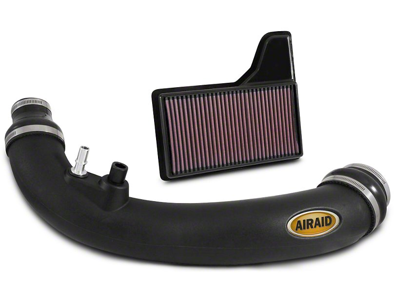 Airaid Jr Intake Tube Kit W/ SynthaFlow Oiled Filter (2015-2019 EcoBoost)