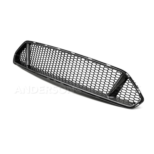 2018 FORD MUSTANG TYPE-GT CARBON FIBER UPPER GRILLE - Lebanon Ford Performance Parts