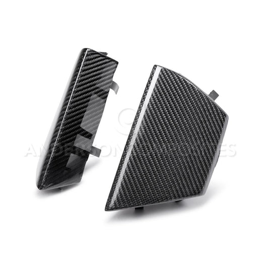 2016-2018 MUSTANG SHELBY GT350 CARBON FIBER FRONT UPPER GRILLE INSERTS - Lebanon Ford Performance Parts