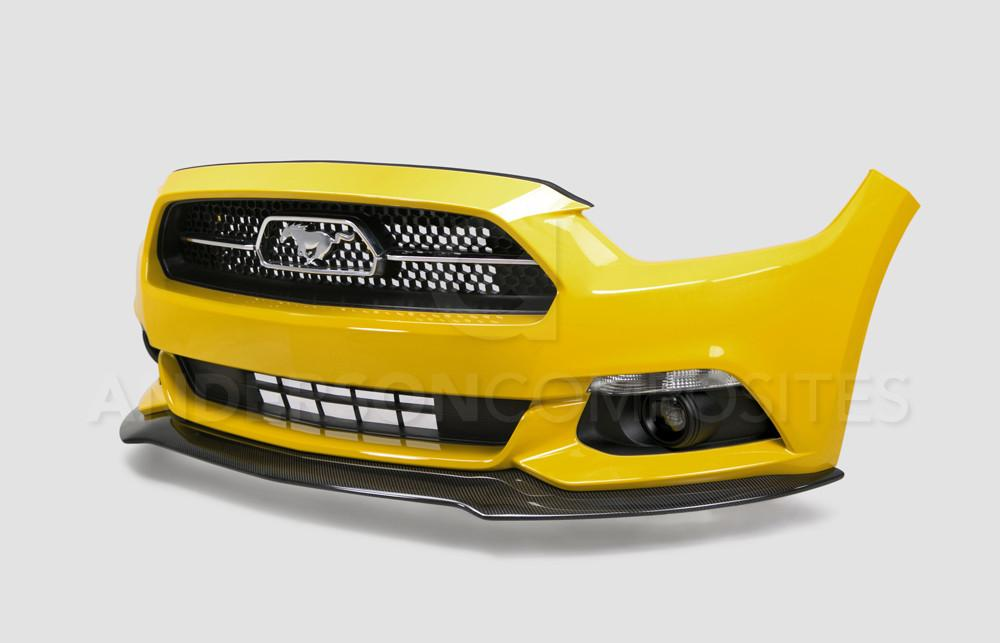 Anderson Composites Carbon Fiber Type-AC Front Chin Splitter (V6/Ecoboost/GT 2010-2014) - Lebanon Ford Performance Parts