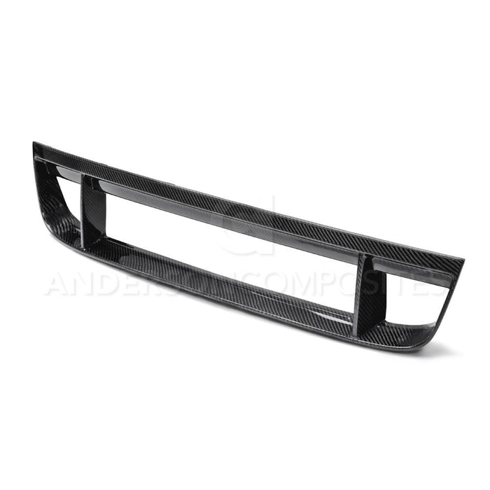 Anderson Composites Carbon Fiber Front Lower Grille (V6/GT/GT500 2013-2014) - Lebanon Ford Performance Parts