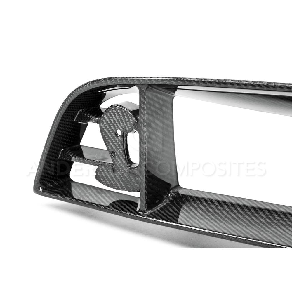 Anderson Composites Carbon Fiber Front Grille (GT500 2010-2014) - Lebanon Ford Performance Parts