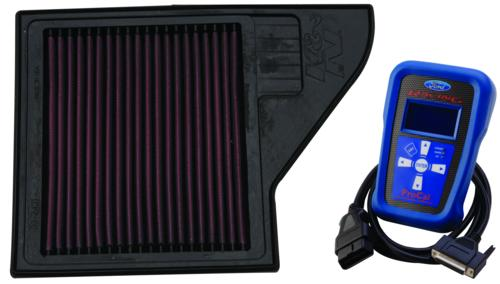 Ford Racing 12-13 Mustang Boss 302 TracKey Calibration with High Flow K&N Air Filter - Lebanon Ford Performance Parts