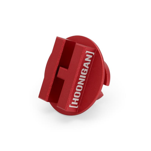 Mishimoto Mustang Ecoboost Hoonigan Oil FIller Cap - Red - Lebanon Ford Performance Parts