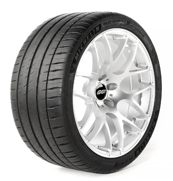 "Apex EC-7 19"" Wheel & Michelin Pilot Sport 4S Tire Combo (2005-2019 All)"