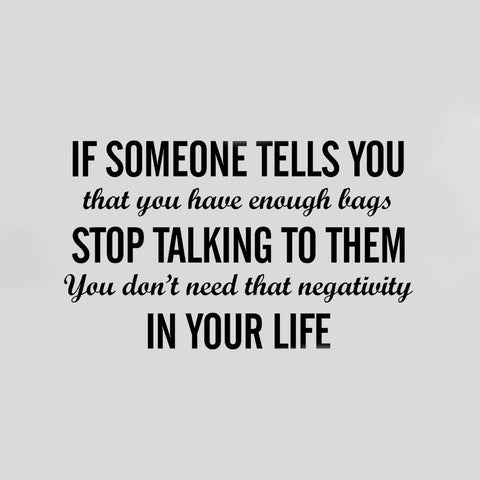 IF SOMEONE TELLS YOU