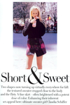 Claudia Schiffer | Short + Sweet | Vogue 1994