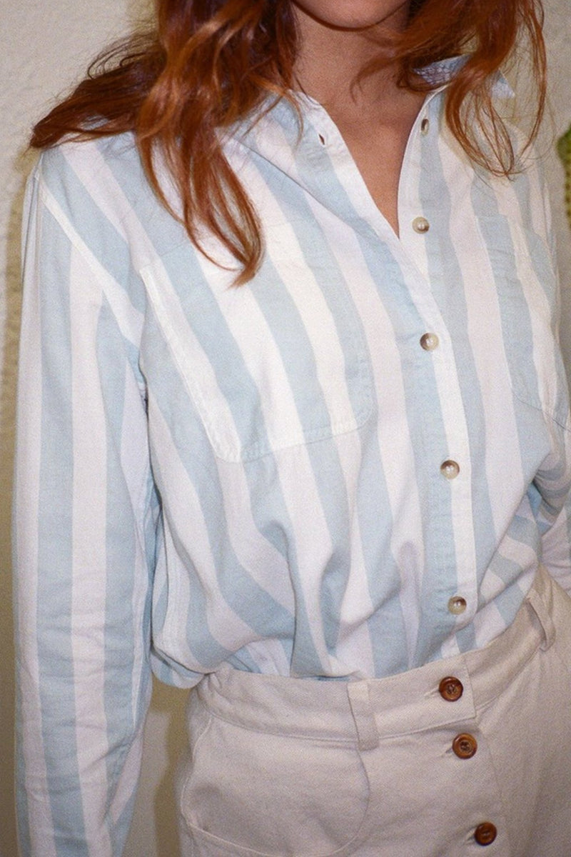 Stripe Shirt - Sky