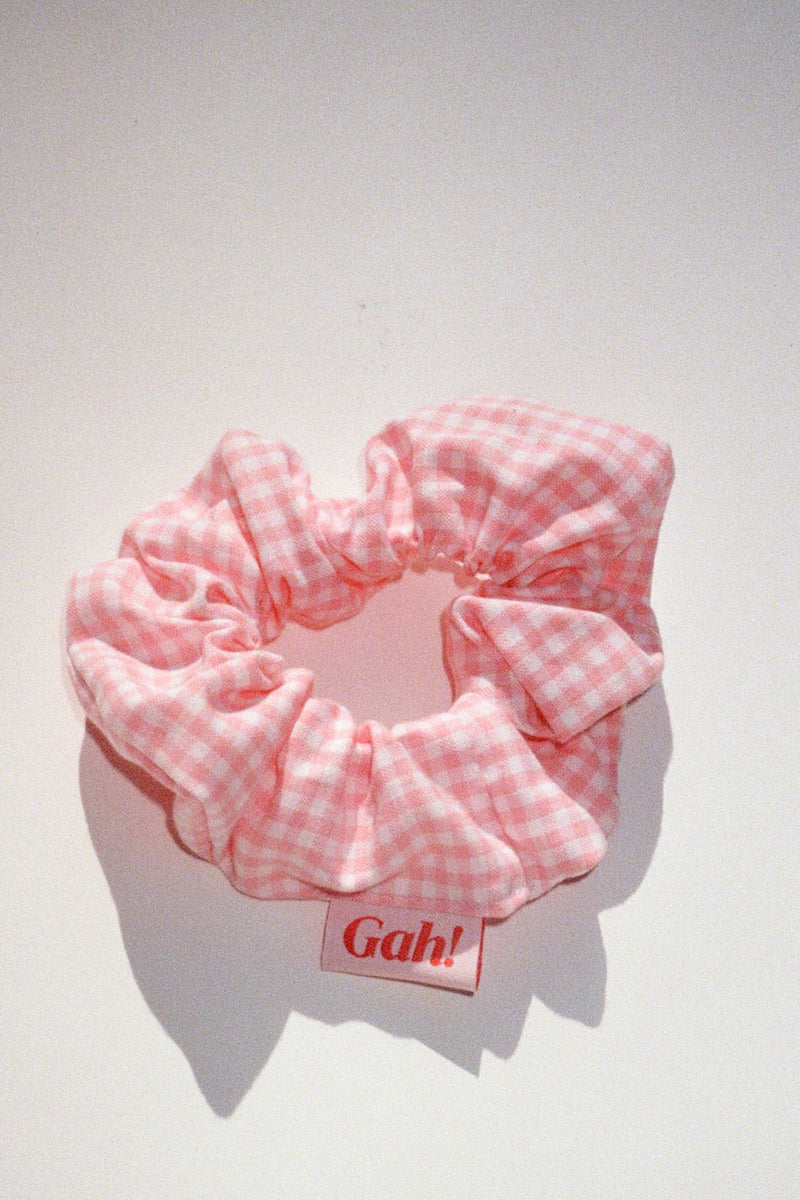 Scrunchie - Pink Gingham
