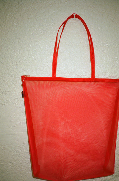 Zip Tote - Red