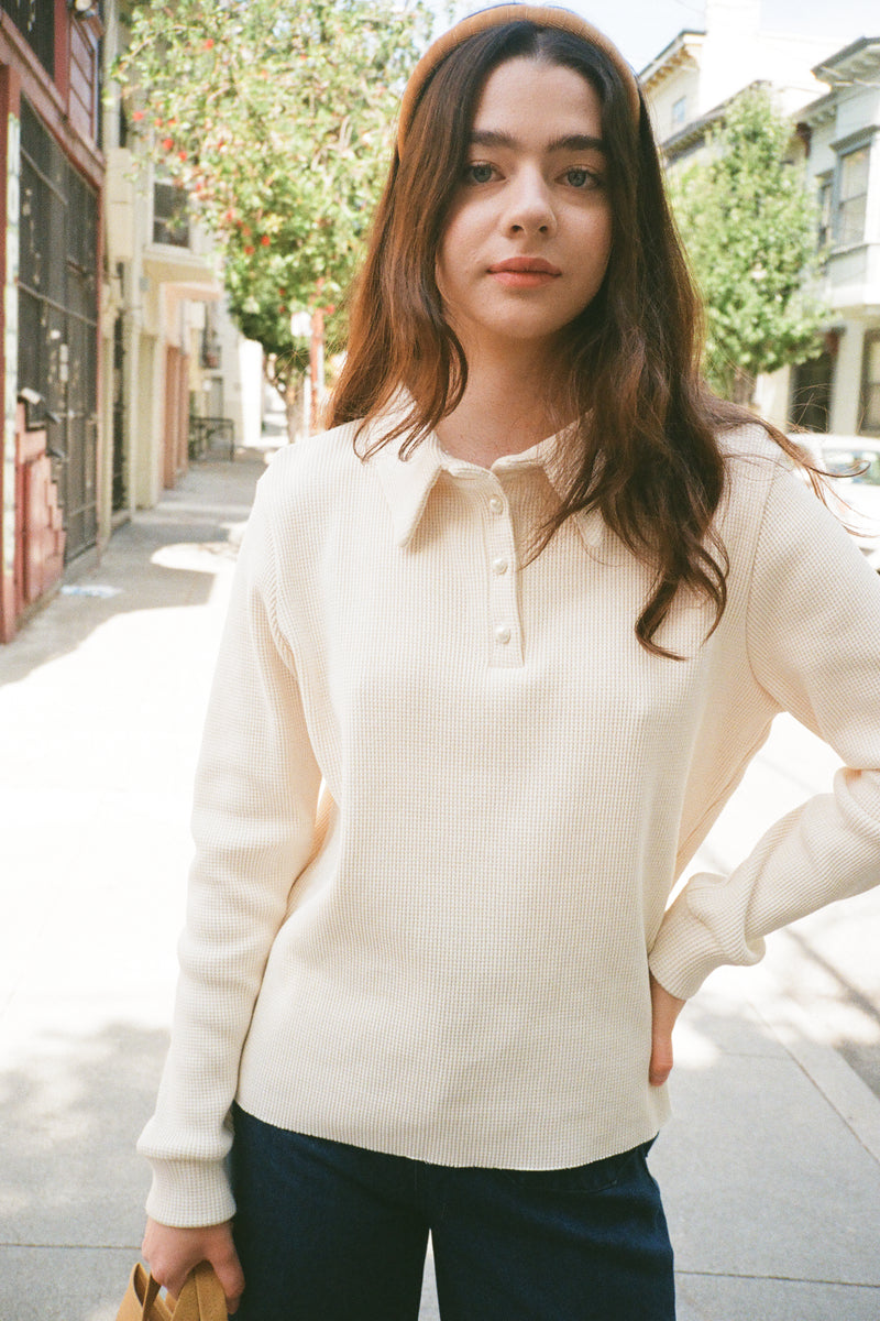 Thermal Pullover - Creme