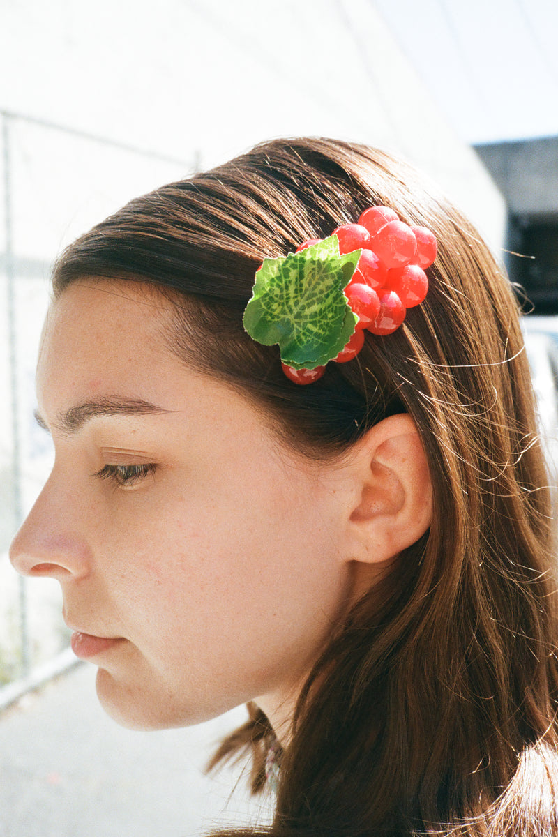 Grape Barrette - Merlot