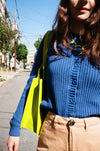 Sailor Cardigan - French Blue