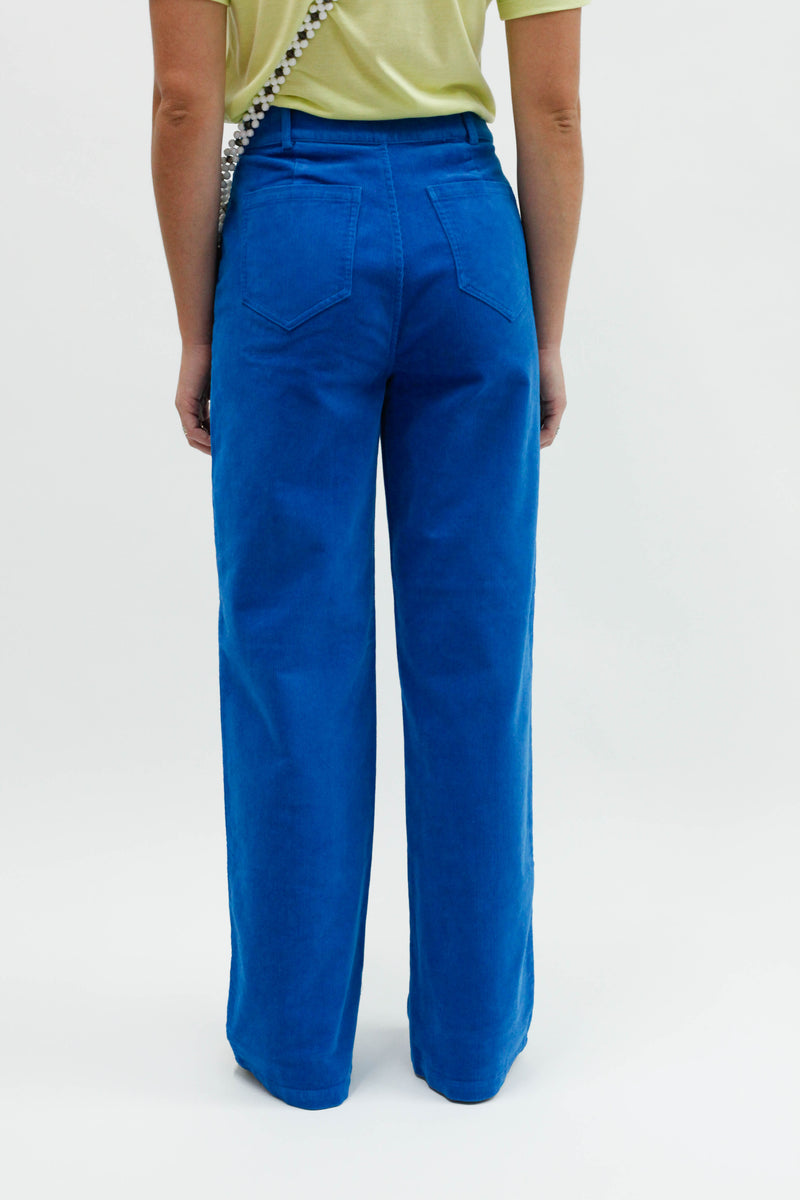 Azurite Trousers - Vibrant Turquoise