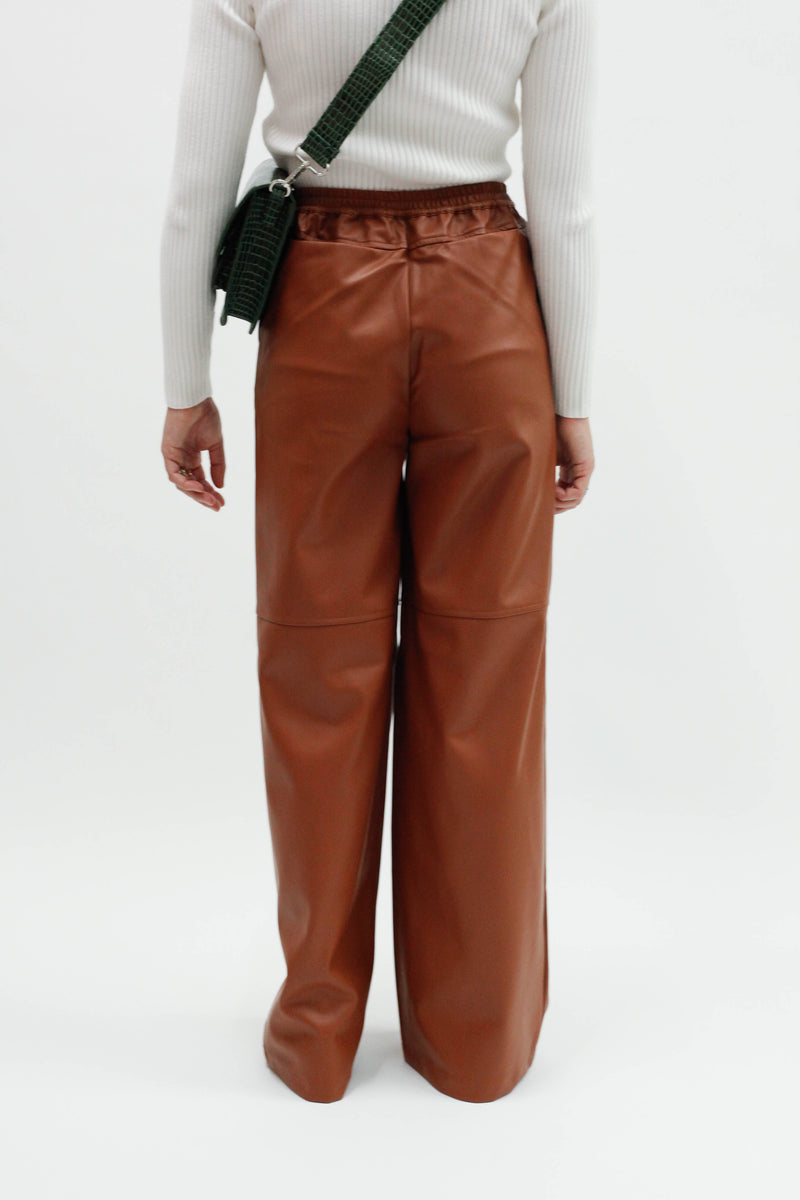 Citrine Trousers - Brown Topaz