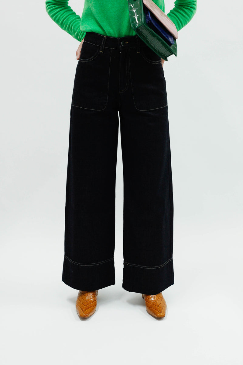Marion Trouser - Dark Blue