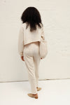 Cotton Pants - Light Beige