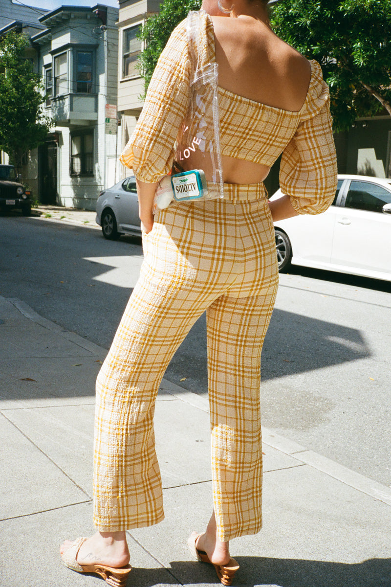 Baldwin Pant - Sungold Plaid