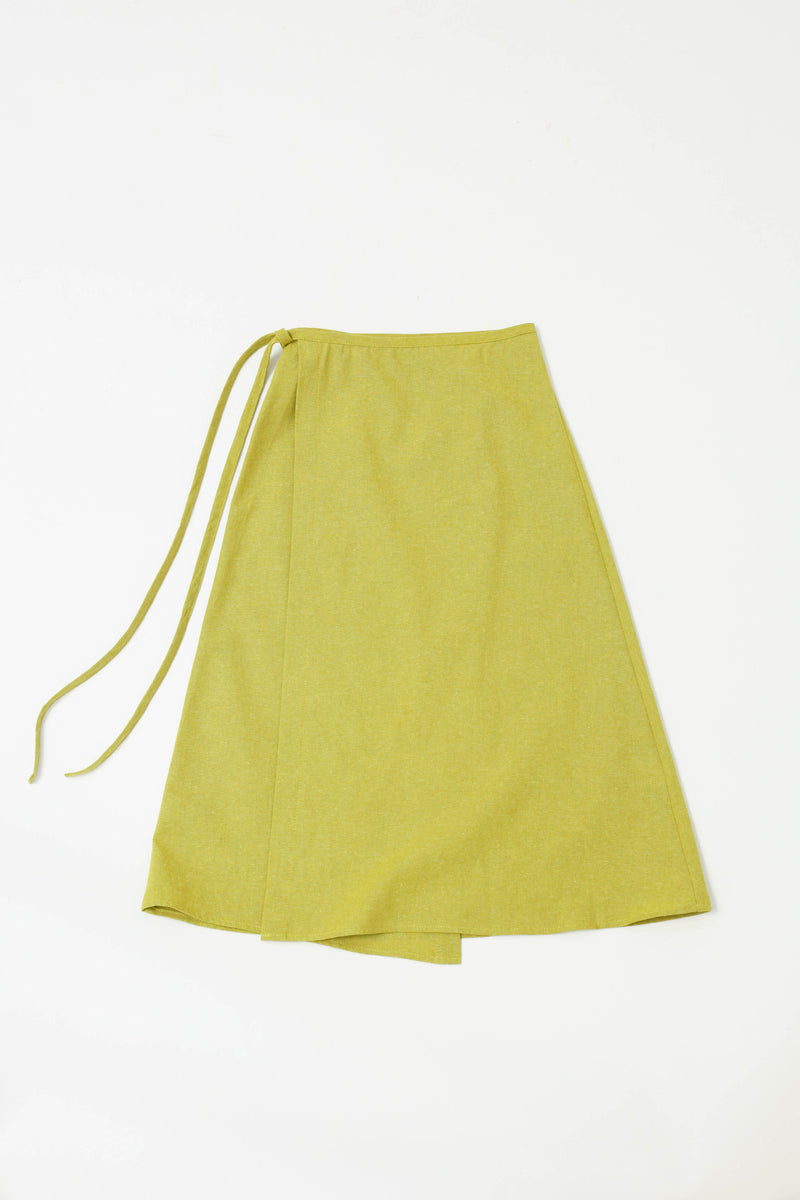 Capri Wrap Skirt - Olive