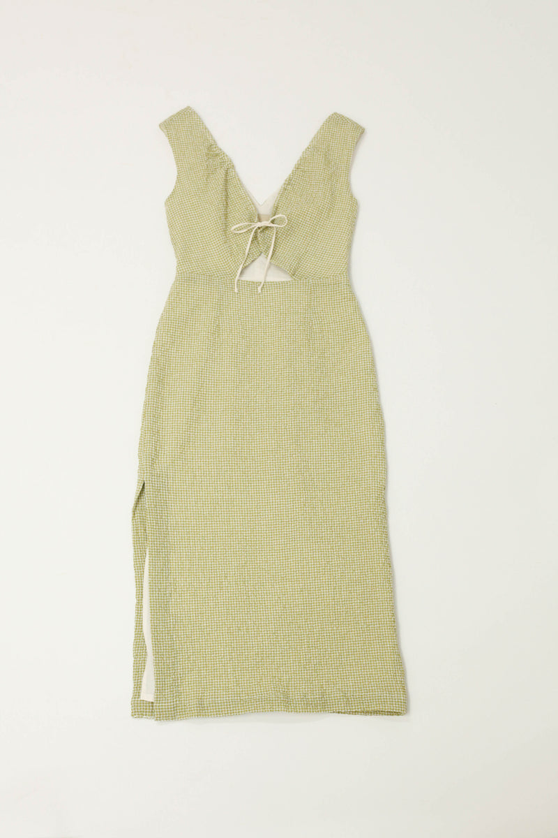 Chambao Dress - Medium Green