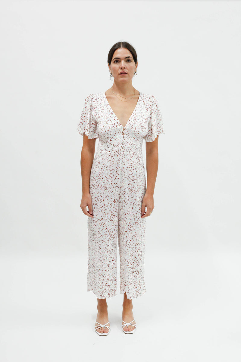 Dune Jumpsuit - Pebble