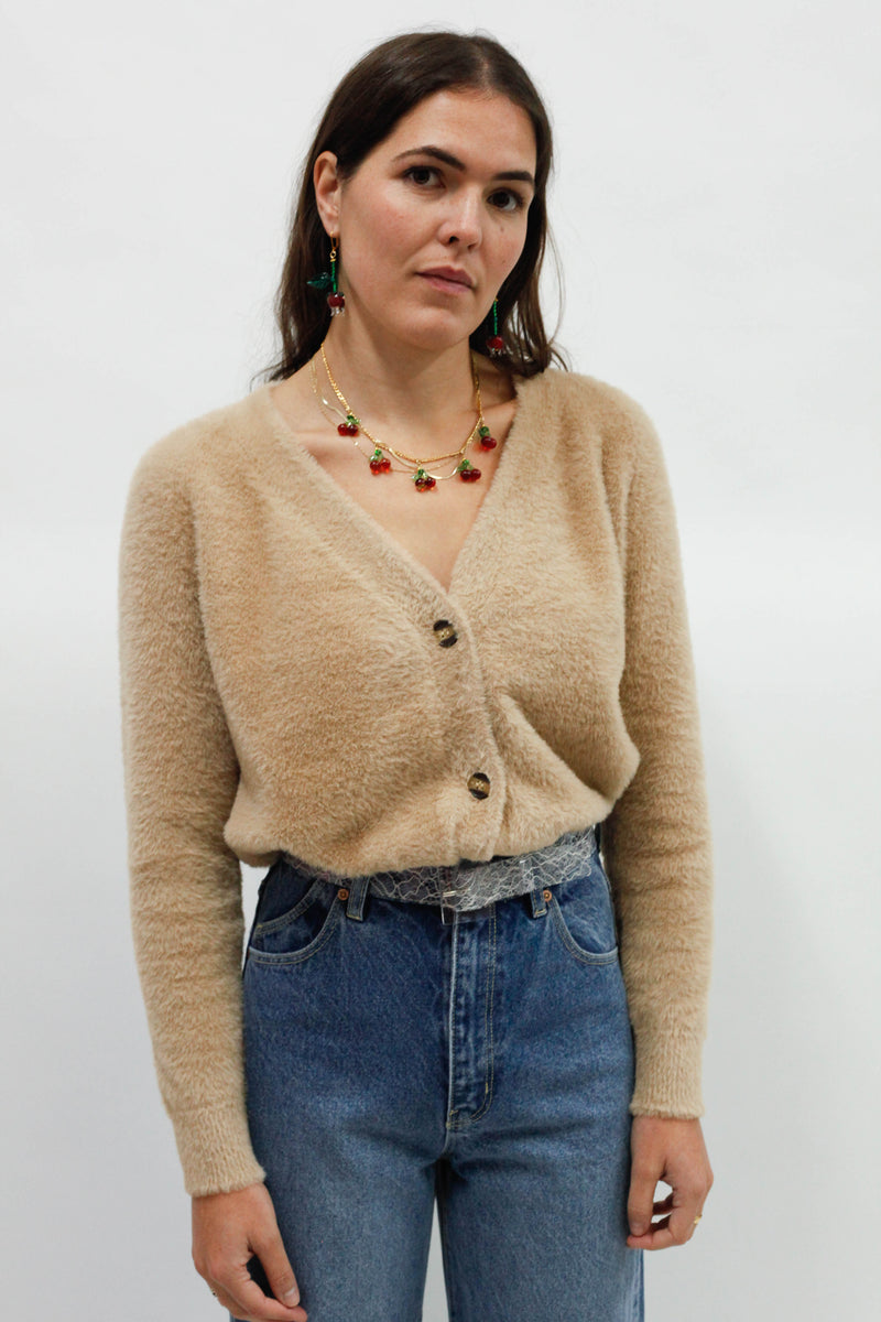 Shade Cardigan - Tan