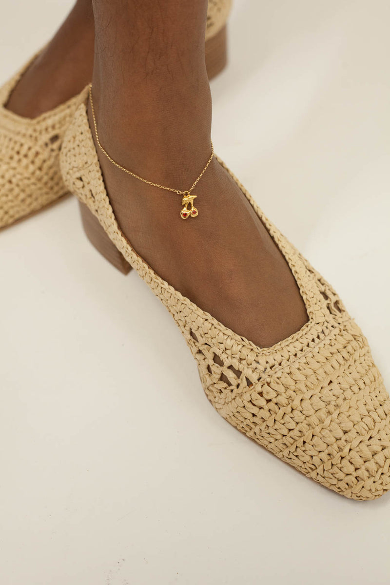 Shirley Temple Anklet