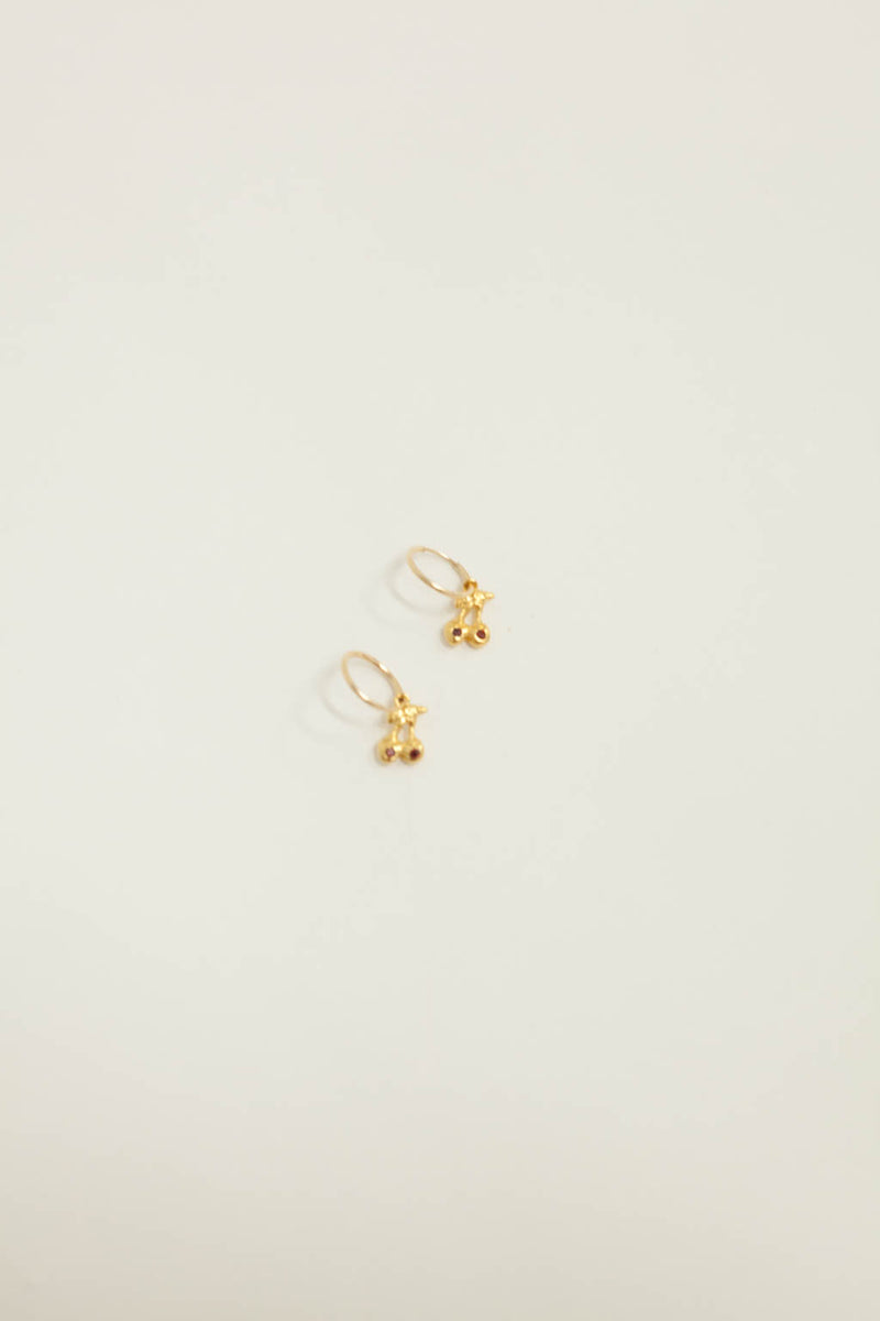 Shirley Temple Earrings - Gold