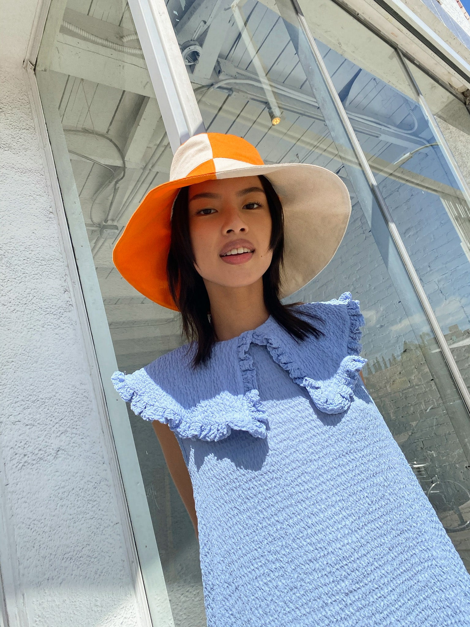 Dolores Bucket Hat - Dreamsicle