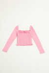 Sophie Top Long Sleeve - Pink