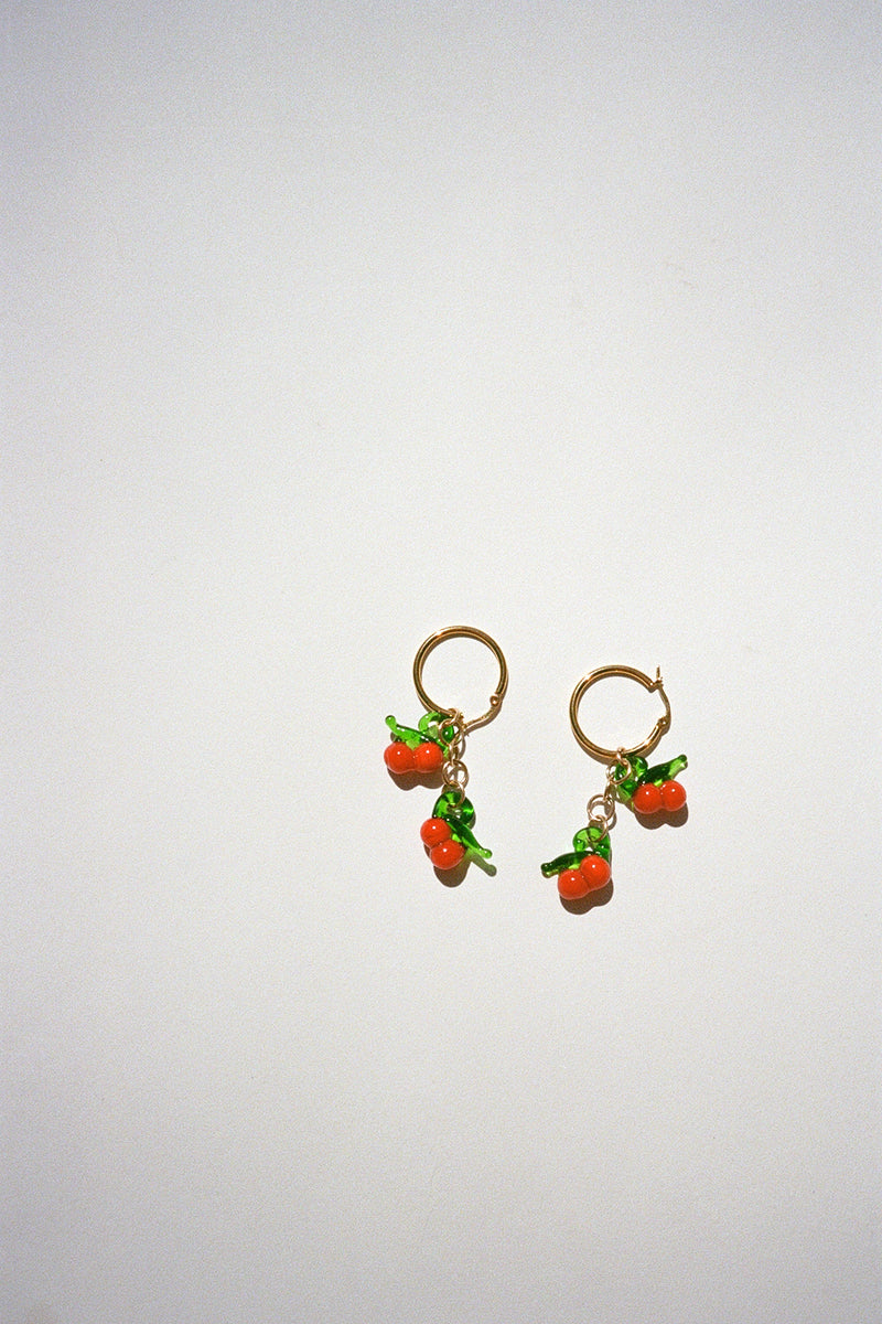 Cherry Hoops - Red Cherry