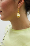Pearl Earrings - Yellow Pearls