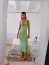Nelly Dress - Green Fluor