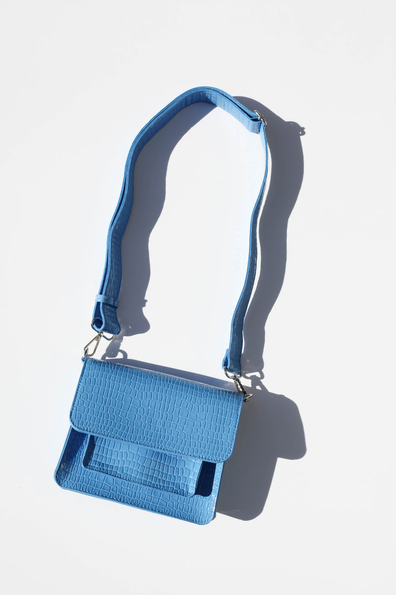 Cayman Pocket Bag - Blue