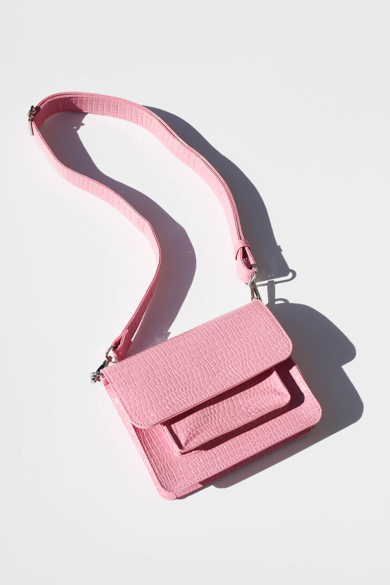 Cayman Pocket Bag - Pink