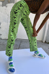 Kokomo Pants - Green Snake