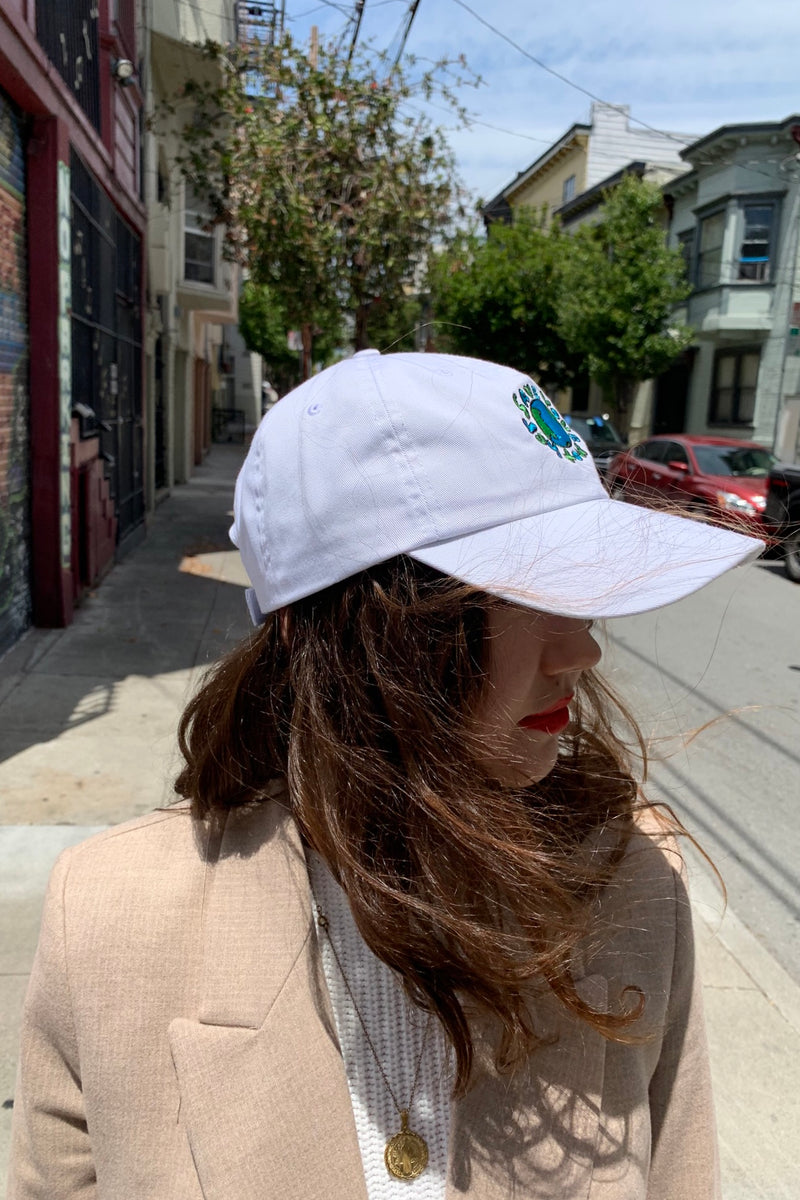 Save Your Mother Earth Baseball Cap - White