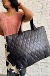 Coast Quilted Wavy - Black