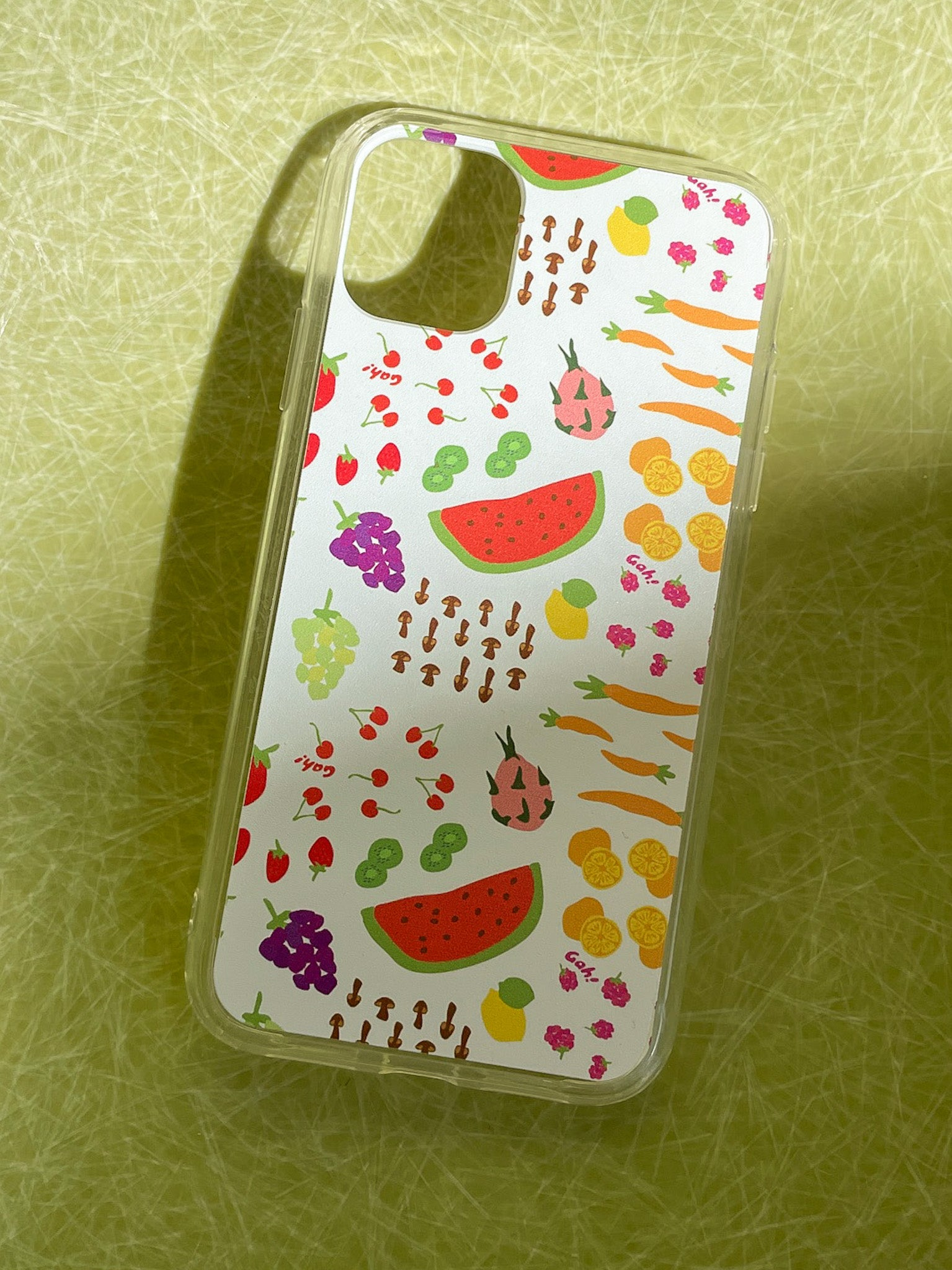 iPhone Case - Farmer's Market White