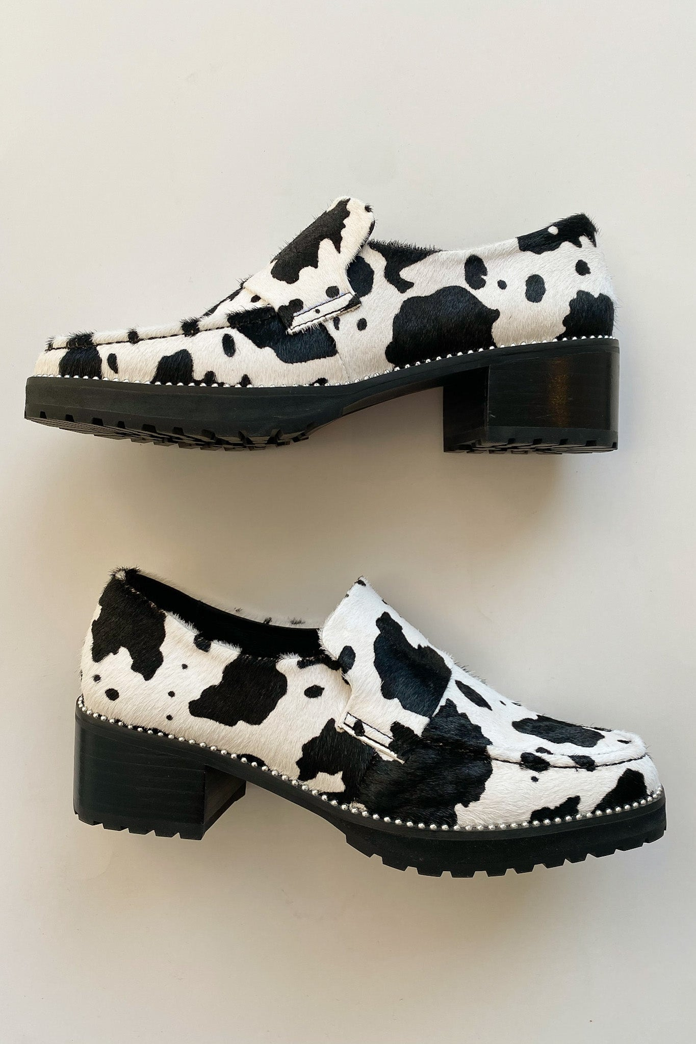 Selina Loafer - Cow Print from Lisa Says Gah!