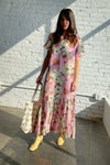 Utopic Maxi Dress - Wallpaper