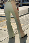 Brielle Pants - Nude/Green