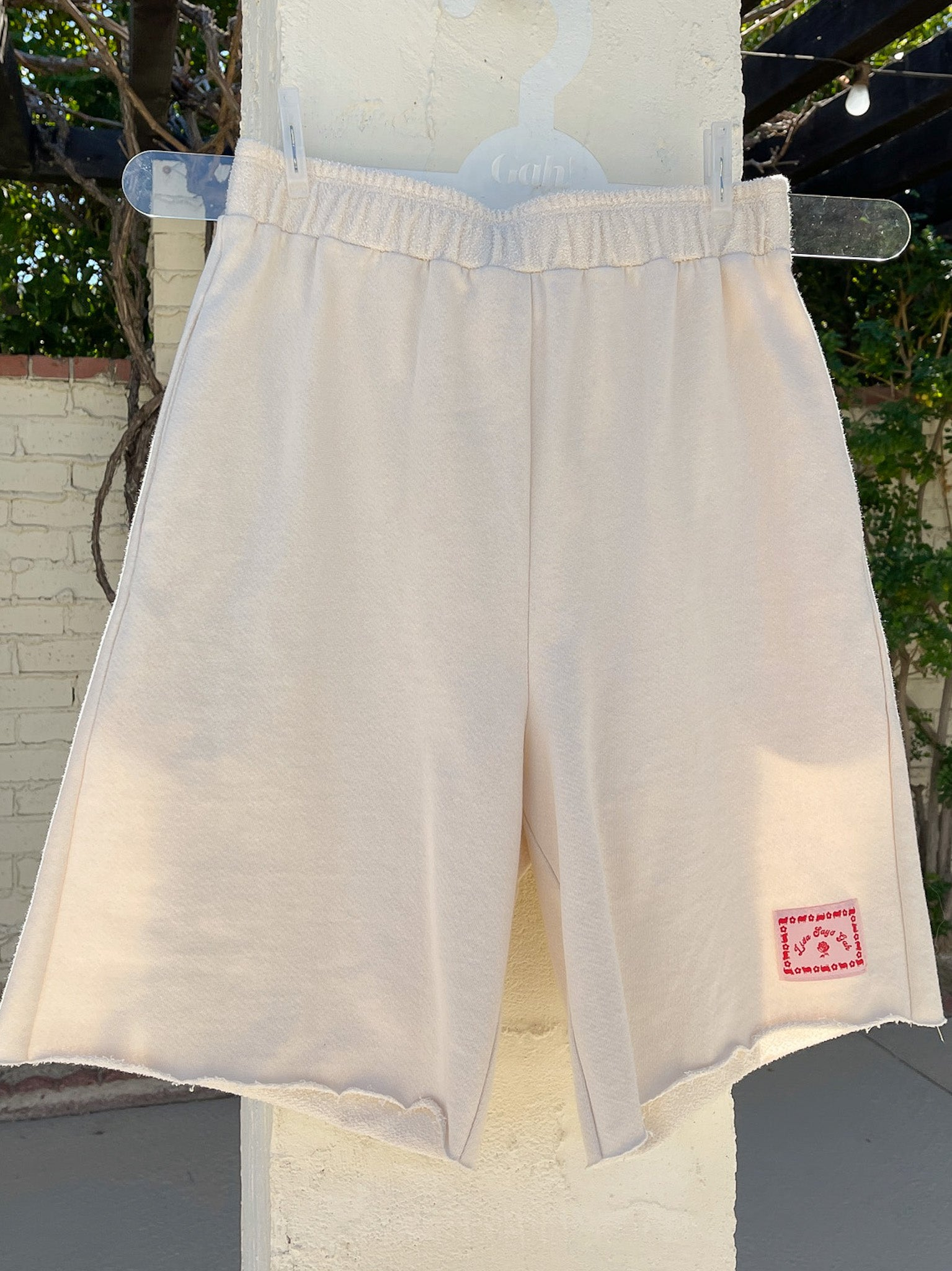 Kelly Organic Terry Shorts - Ivory